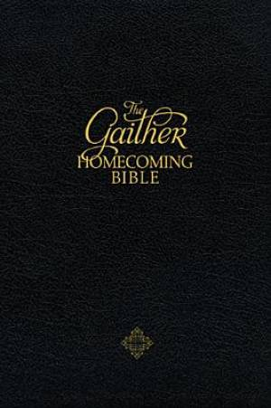 NKJV The Gaither Homecoming Bible: Black, Bonded Leather