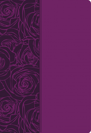 NKJV Woman Thou Art Loosed Purple Imitation Leather