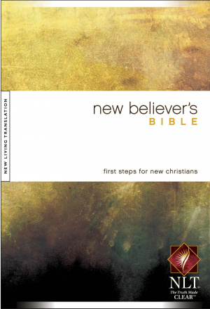 NLT New Believers Bible: Hardback