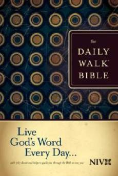 NIV Daily Walk Bible Paperback