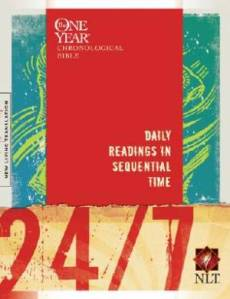 NLT 24/7 One Year Chronological Bible: Paperback