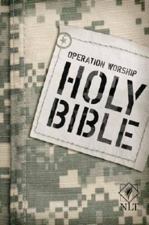 NLT Operation Worship: Army Compact Bible - Paperback