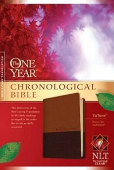 NLT One Year Chronological Bible Tutone
