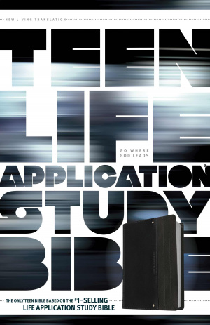 NLT Teen Life Application Study Bible: Black Pocket Edition, Leatherlike