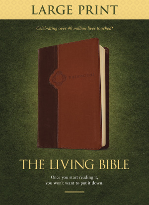 Living Bible Lp Tutone The Brown Tan