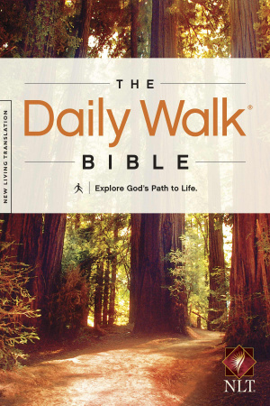 NLT Daily Walk Bible Devotional Bible
