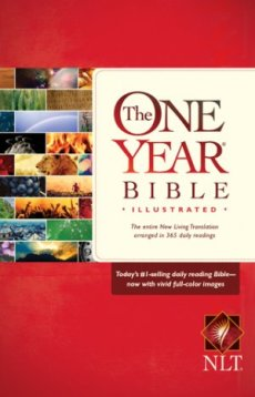 NLT One Year Bible: Illustrated Edition