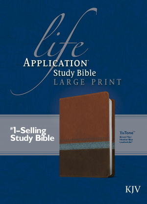 KJV Life Application Study Bible, Large Print
