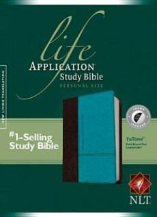 NLT Life Application Study Bible: Personal Size, LeatherLike, Thumb Index