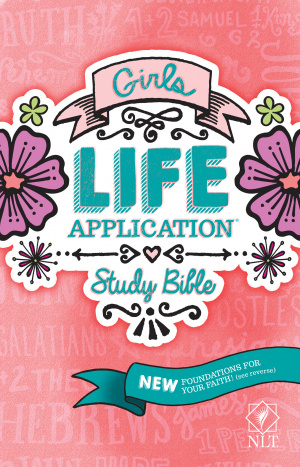 NLT Girls Life Application Study Bible
