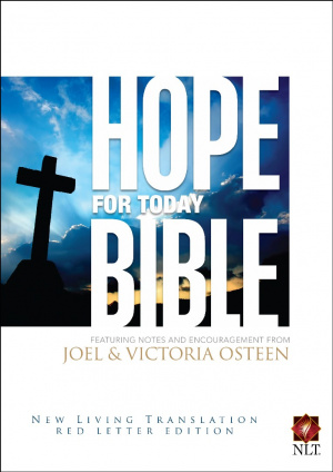 NLT Hope For Today Bible: Hardback