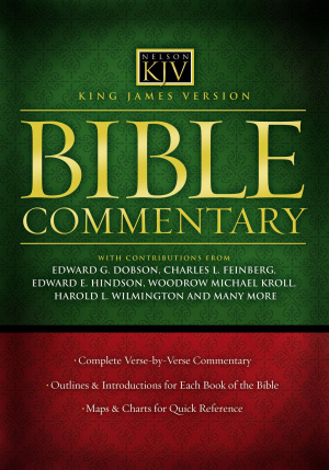King James Version Bible Commentary Super Saver