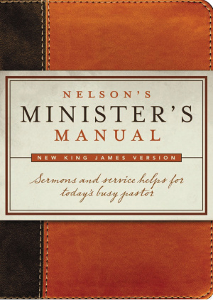 Nelson's Ministers Manuel NKJV Imitation Leather