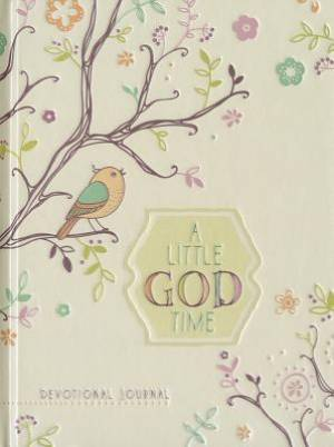 Journal: A Little God Time Devotional Journal (Elastic Band Book Marker)