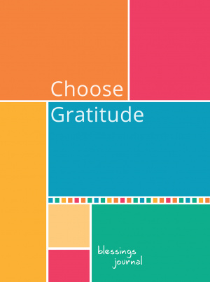 Journal: Choose Gratitude Blessings (Elastic Band Book Marker)