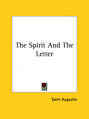 Spirit and the Letter