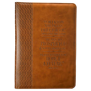 Jer. 29:11 (Tan) Flexcover Journal