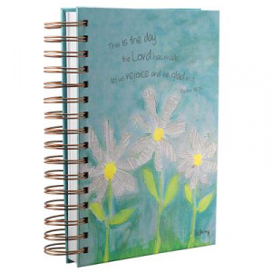 Petals of Praise/Daisy Wirebound Journal