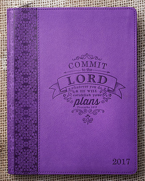 Commit to the Lord Large Planner 2017