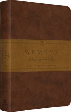 ESV Womens Devotional Imitation Leather Brown