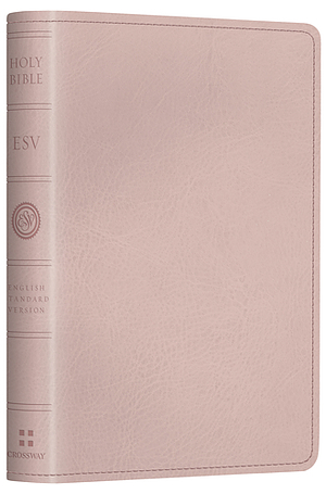 ESV Pocket New Testament with Psalms and Proverbs: Pink, Imitation Leather
