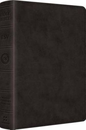Esv Readers Bible Lthlk Black