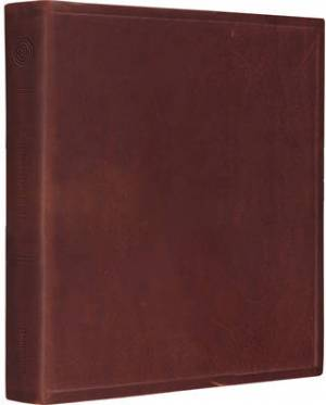 ESV Journaling Bible: Brown, Cowhide Leather