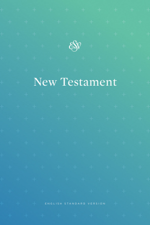 ESV Outreach New Testament (Paperback, Blue)