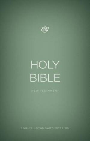 ESV Outreach New Testament (Paperback, Green)