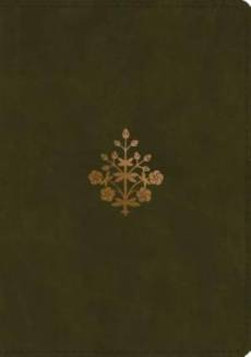 ESV Study Bible (TruTone, Olive, Branch Design)