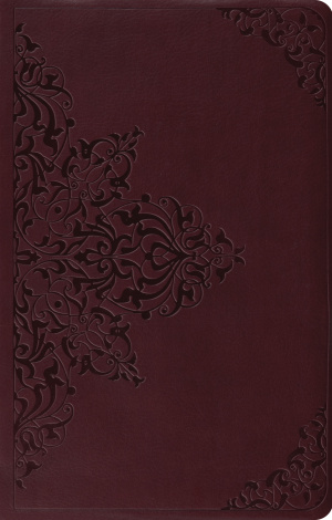 ESV Premium Gift Bible (TruTone, Chestnut, Filigree Design)