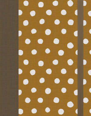 ESV Single Column Journaling Bible (Cloth over Board, Polka Dots)