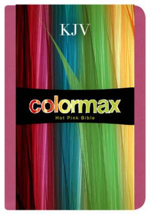 KJV Compact Colormax Bible: Hot Pink, LeatherTouch