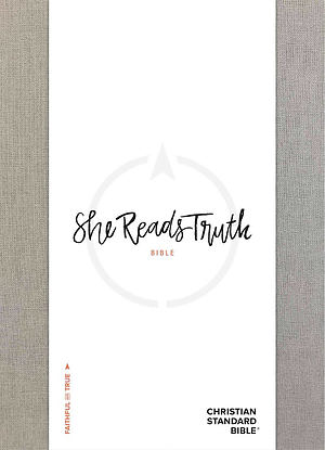 CSB She Reads Truth Bible, Gray Linen