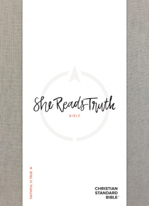 CSB She Reads Truth Bible, Gray Linen, Indexed