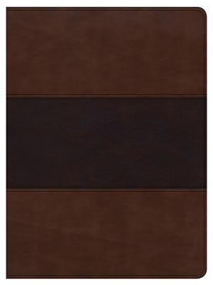 CSB Apologetics Study Bible, Mahogany Leathertouch, Indexed