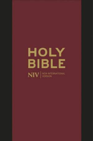 NIV Pocket Black Bonded Leather Bible with Zip