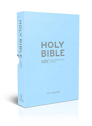 NIV Pocket Pastel Blue Soft-tone Bible