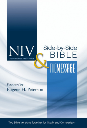 NIV & the Message Side-by-side Bible Hardback