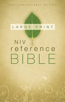 NIV Reference Bible Large Print Hardback