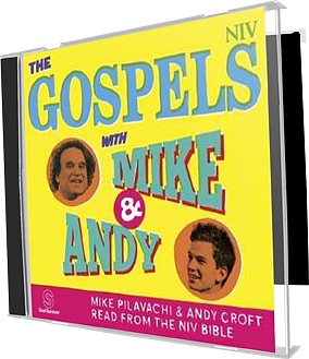 The Gospels with Mike and Andy MP3 CD