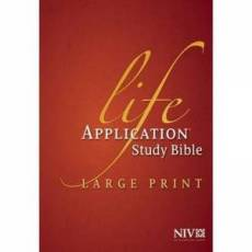 NIV Life Application Study Bible - US Large Print