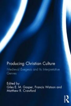 Producing Christian Culture from Augustine to 1500s