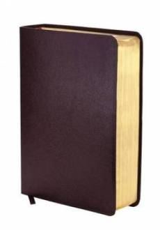 NIV Zondervan Study Bible: Burgundy, Bonded Leather