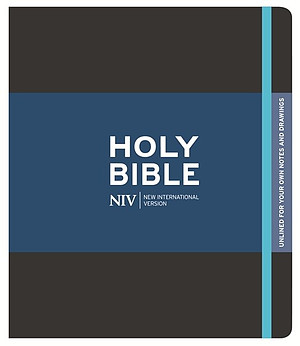 NIV Black Journaling Bible
