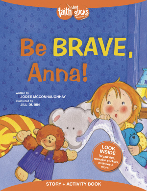 Be Brave, Anna! Story + Activity Book