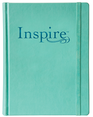 NLT Inspire Colouring Bible: Hardback