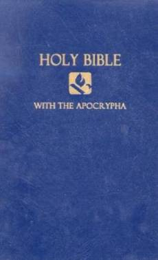 NRSV Pew Bible with Apocrypha: Blue, Hardback