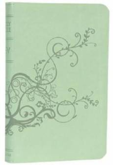 ESV Ivy Bible: Cool Mint Tru Tone, Imitation Leather