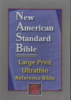 Large Print Ultrathin Reference Bible